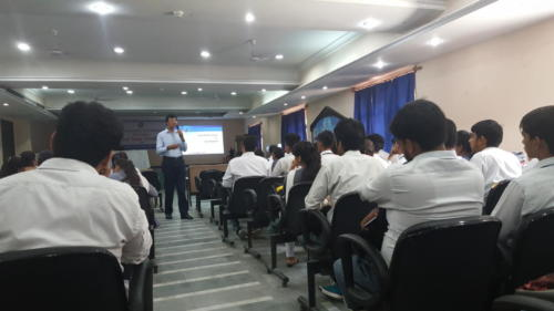 Campus Placements Overview Workshop at a leading Engineering College, Delhi NCR