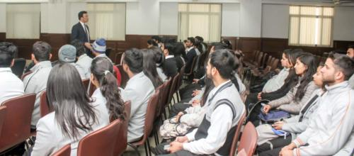 Motivational Workshop for MBA Students of a leading University, Dehradun, Uttarakhand
