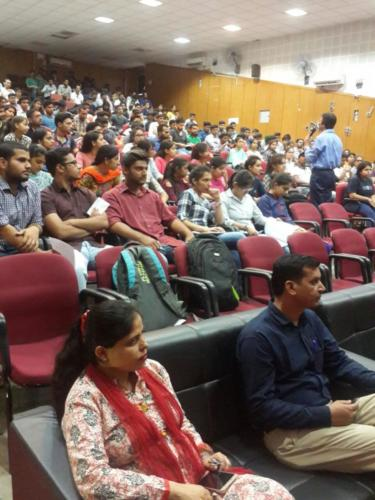 Pre Placement Workshop for B.Tech Students at Delhi NCR