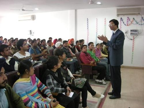 Soft-Skills-Seminar-in-progress at a leading Engineering College of Punjab