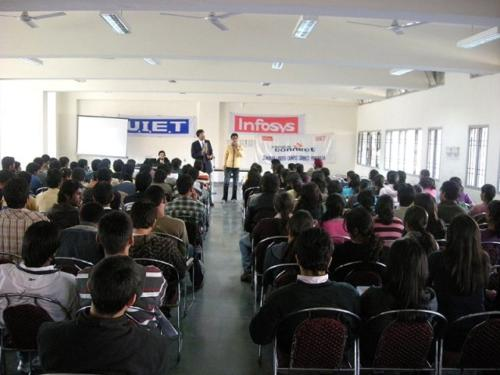 Students-participating-in-the-Soft-Skills-Activity at a prestigious Engineering College of Chandigarh